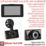 "Novo 3.0 ""Zinc Alloy Housing Car DVR Dash Camera com Full HD1080p a 30 fps. H264. Gravador de Vídeo Digital. 5.0mega Car Camera Mobile DVR 3010"