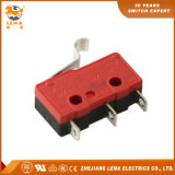 Lema Kw12-56 5A Bent Lever Welding Terminal Miniature Micro Switch