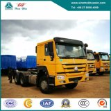 Vrachtwagen van de Tractor van Sinotruk HOWO 6X4 de Op zwaar werk berekende met Dieselmotor