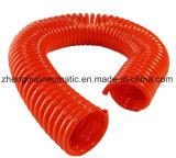 Bobine de PU couleur flexible avec raccord (L'OUTIL PNEUMATIQUE : 5*8mm)
