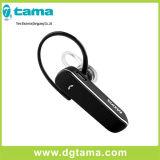 Écouteur stéréo d'écouteur d'écouteur sans fil de Bluetooth pour le noir de Samsung d'iPhone