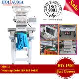 中国の最も売れ行きの良い1ヘッド刺繍機械高品質