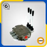3 Spulen-hydraulisches mehrfaches Richtungssteuerhebel-Ventil für Kran
