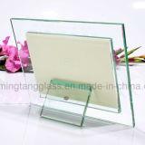 &#160 ; la glace de cadres de tableau 4X6, doublent le cadre de tableau en verre dégrossi, glace claire de bâti