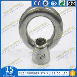 Noix d'oeil de l'acier inoxydable JIS 1169
