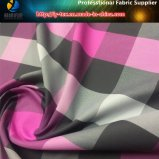Ткань кожи персика полиэфира покрашенная пряжей с мягким Handfeeling для рубашек (YD1064)