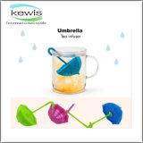 Nuovo filtro dai setacci del tè di figura dell'ombrello di disegno