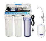5 Manual Etapa Flush sistema de ósmosis inversa de agua para la casa Hold