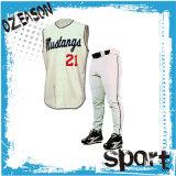 Pantaloni Sleeveless della Jersey di baseball dell'OEM di baseball di usura professionale del giocatore (B020)