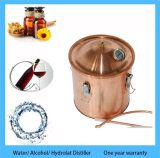 naturaleza de fabricación casera del destilador totalmente de cobre de 30liter 8gallon kit sano del destilador del hidrosol del flor del cuidado de piel