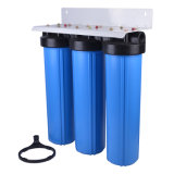 Фильтр воды 3 этапов большой голубой Jumbo