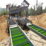 Sand-Golderz-Schwerkraft-Trennzeichen-Goldwaschende Pflanze