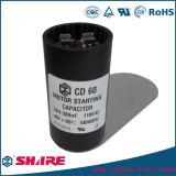 конденсатор 110V 108-130mfd электролитический для начинать частично лошадиную силу