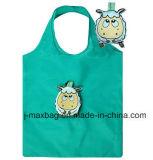 Saco de compras de presentes dobráveis com bolsa 3D, estilo de vaca animal, reutilizável, leve, sacos de supermercado e acessível, promoção, acessórios e decoração