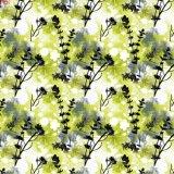 Tejido Stretch de prendas de vestir de tejido de poliéster impreso (PPF-076)