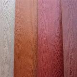Cuero caliente de la PU del cambio del color de la venta para la cubierta del cuaderno (HW-1462)