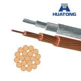 Conductor de aluminio del conductor de ACSR para la línea de transmisión de arriba