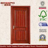Projeto de madeira interior moderno da porta do quarto de Lowes (GSP2-51)