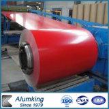 Bobina di alluminio ricoperta colore del PE PVDF per tetto/decorazione