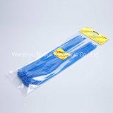 11 de '' cintas plásticas de nylon de travamento automático pretas 50lbs White/UV