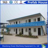 Casa prefabricada del edificio de la instalación fácil económica del presupuesto del material de construcción de la estructura de acero