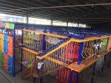 Игры оборудования спортивной площадки веревочки серии расширения взбираясь