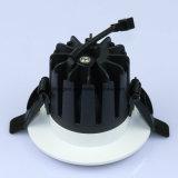 Ritaglio 75mm~77mm LED messo PANNOCCHIA Downlight 7W del diametro 85mm