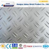 placa Checkered del acero inoxidable 304L