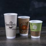 2017 бумажных стаканчиков кофеего стены нового прибытия устранимых двойных