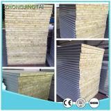 壁および屋根ふきのための耐火性の絶縁体の岩綿サンドイッチパネル