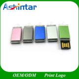 Mecanismo impulsor impermeable del flash del USB de Pendrive del palillo plástico del USB mini
