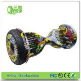 Vespa de barato 2 ruedas con la luz del LED y teledirigido eléctricos