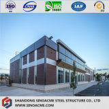 Construction de bâti en acier préfabriquée de modèle modulaire de conformité de la CE