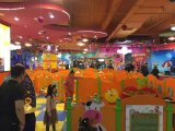 子供のためのトレイン様式の壁の演劇のボード