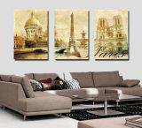 習慣の異なったサイズの画像はオイルおよびアクリルの絵画キャンバスプリントの一見を複製する
