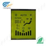 Jaune Vert Caractère Tn Type Transmissive Positive LCD Display Panel