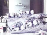Literie de la plaine de poly/coton ensemble des collections de l'hôtel Le linge de lit