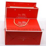 Grossy Stamping plastificado impresos de regalo de lujo bolsas para compras/Apprael