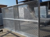 Amerika-Kettenlink-Zaun mit vertikaler Klammer