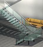 Escaleras modernas de los fabricantes de la escalera para de interior