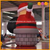 Natale gigante di festa che fa pubblicità al natale il Babbo Natale gonfiabile (AQ5718-1) del modello