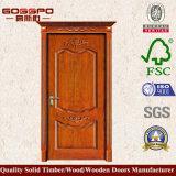 Moderne Hand geschnitzte hölzerne Tür für Raum (GSP2-048)