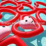 Galleggianti gonfiabili del raggruppamento di amore dell'anello di nuoto del giocattolo del raggruppamento di acqua dei prodotti