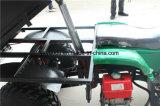 4雪タイヤ10/12inchが付いているヘッドランプの農場のクォードATV