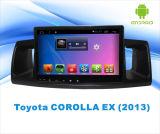 Androïde GPS van de Auto DVD van het Systeem Navigatie voor Scherm van de Aanraking van 9 Duim van de Bloemkroon van Toyota het Ex met MP3/MP4/TV