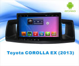 Toyota CorollaのMP3/MP4/TVの前の9インチのタッチ画面のための人間の特徴をもつシステム車DVD GPSの運行