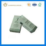 El rectángulo de empaquetado plegable de la impresión de los cosméticos con la capa ULTRAVIOLETA para la pestaña pega (la fábrica revisada SGS)