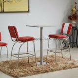 2 사람을%s 편리한 덮개를 씌운 식탁 그리고 가죽 의자 (SP-CT847)