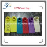 Free Sample 72 * 10mm Sheep Goat Ear Tag para gerenciamento de rastreamento