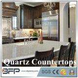Console da bancada de quartzo para a cozinha